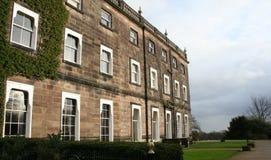 Casa di proprietà terriera inglese del paese Immagine Stock Libera da Diritti