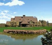Casa di ranch fotografie stock libere da diritti