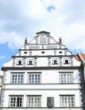 Casa di rinascita in Pisek Fotografie Stock