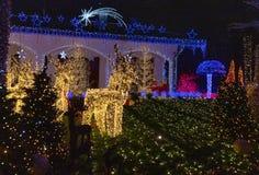 Casa di Santa Claus in Melegnano Milano immagini stock libere da diritti
