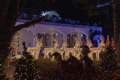 Casa di Santa Claus in Melegnano Milano fotografie stock