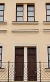 Casa di simmetria Immagine Stock
