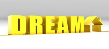 Casa di sogno Immagini Stock