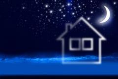 Casa di sogno Fotografie Stock