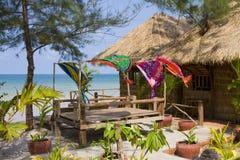 Casa di spiaggia Fotografia Stock