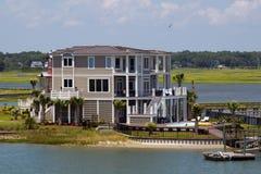 Casa di spiaggia Immagini Stock