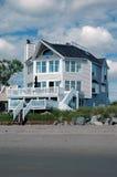 Casa di spiaggia Immagini Stock Libere da Diritti