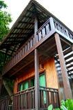 Casa di spiaggia tropicale Fotografia Stock