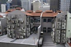 Casa di stato dell'aria dell'alloggio di Singapore Fotografia Stock Libera da Diritti