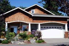 Casa di stile dell'artigiano Fotografia Stock