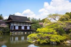 Casa di stile giapponese Fotografia Stock Libera da Diritti