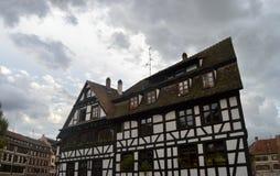 Casa di Strasburgo, l'Alsazia, Francia Fotografie Stock Libere da Diritti