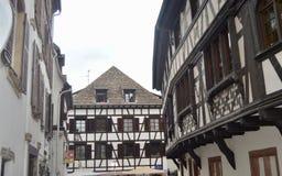Casa di Strasburgo, l'Alsazia, Francia Fotografia Stock