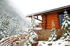 Casa di tè - lago Agnese Fotografia Stock Libera da Diritti