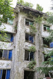 Casa di terremoto Fotografie Stock Libere da Diritti