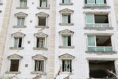 Casa di terremoto Fotografia Stock
