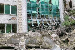 Casa di terremoto Immagine Stock Libera da Diritti