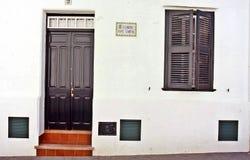 Casa di Tipical di Menorca fotografie stock libere da diritti