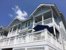Casa di vacanza all'isola di Roanoke Fotografia Stock