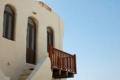 Casa di vacanza dell'isola Fotografia Stock