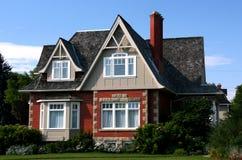 Casa di vecchio stile Immagine Stock