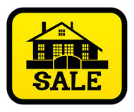 Casa di vendita Fotografie Stock