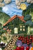 Casa di verdure Fotografie Stock