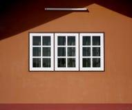 Casa dianteira da janela Fotografia de Stock