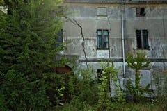 Casa dilapidata Immagine Stock Libera da Diritti
