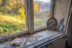 Casa dimenticata abbandonata Immagini Stock Libere da Diritti
