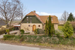 Casa dinamarquesa tradicional Fotos de Stock Royalty Free