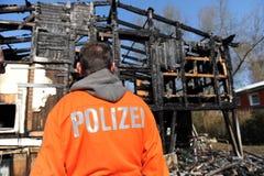 Casa distrutta Fotografia Stock