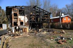 casa distrutta Immagine Stock