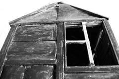 Casa do abandono imagem de stock royalty free