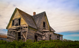 Casa do abandono de Shagging imagem de stock royalty free