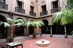 Casa do Alentejo, an moorish style hotel in Lisbon Stock Photo