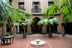 Casa do Alentejo, an moorish style hotel in Lisbon Royalty Free Stock Photos