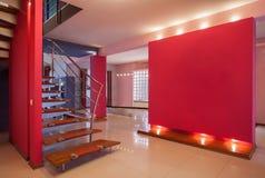 Casa do amaranto - corredor fotografia de stock royalty free