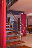 Casa do amaranto - escadaria imagens de stock royalty free
