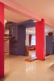 Casa do amaranto - rosa e violeta fotografia de stock royalty free