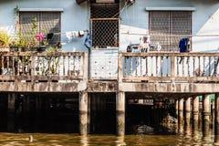 Casa do beira-rio imagem de stock
