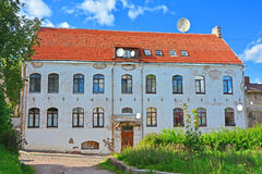 Casa do burgomaster em Vyborg, Rússia imagens de stock royalty free