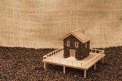 Casa do café Imagem de Stock Royalty Free