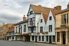 Casa do capítulo do hotel, Salisbúria, UK fotografia de stock royalty free