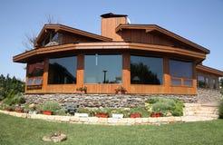 Casa do cedro Imagens de Stock Royalty Free
