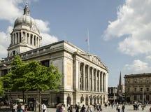 Casa do Conselho em Nottingham, Reino Unido imagem de stock
