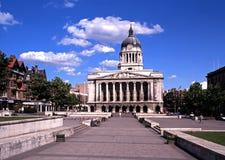 A casa do Conselho, Nottingham imagem de stock royalty free
