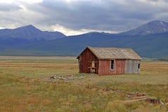 Casa do dano, Rocky Mountains, Colorado Imagem de Stock Royalty Free