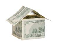Casa do dinheiro Imagens de Stock Royalty Free