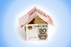 Casa do dinheiro chinês Fotografia de Stock Royalty Free